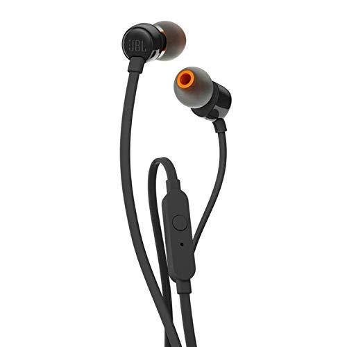 JBL T110 Cuffie In Ear con Microfono, Cavo Piatto...