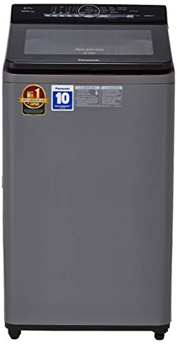 Panasonic 6.7 Kg Fully-Automatic Top Loading Washing Machine (NA-F67A8CRB, Inox)