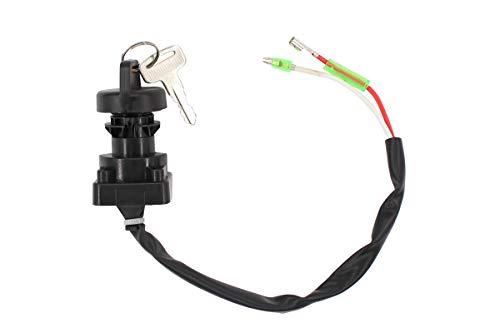 Ignition Switch w/Keys for Kawasaki Bayou 220 250 300 400 KLF Lakota 300 KEF300A Prairie 300 400 ATV