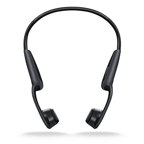 Heayzoki Cuffie a conduzione ossea, Cuffie a conduzione ossea Wireless Z8 Cuffie Impermeabili Bluetooth 5.0 Cuffie Telefono HD Vivavoce con Microfono Chiamata per Corsa, Sport, Fitness ECC.