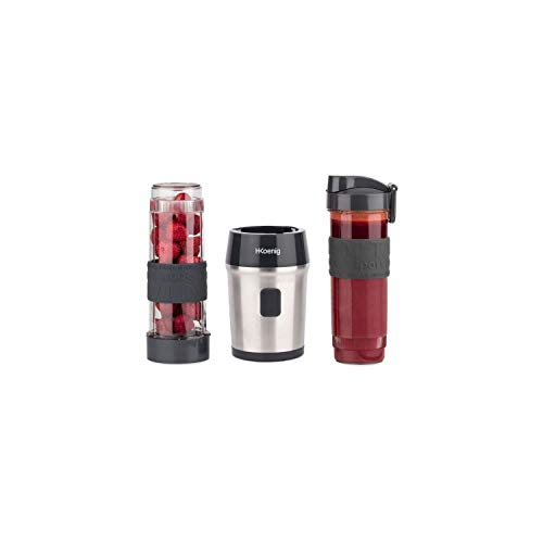 H.Koenig Mini Blender Smoothie Transportable Compact 570mL SMOO9 Sans BPA...