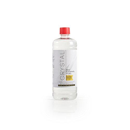 Bio Fires - Crystal Bio Ethanol Fuel - 6 X 1L Bottles