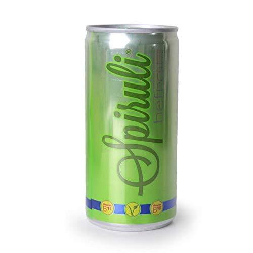 Spiruli Erfrischungsgetränk mit natürlichem B12 und Spirulina | vegan, glutenfrei | 20er Pack (20x200ml)