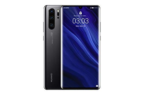 "Huawei P30 Pro - Smartphone de 6.47"" (Kirin 980 Octa-Core de 2.6GHz, RAM de 8 GB, Memoria interna de 128 GB, cámara de 40 MP, Android) Color Negro [Versión española]"