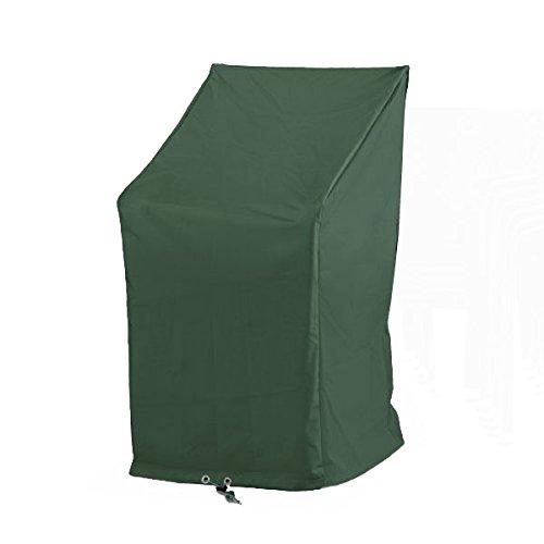Wehncke 15169 - Schutzhülle Premium für Stapel- und Relax-Stühle, 65 x 65 x 120/80, grün