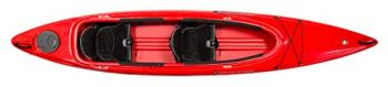 "Wilderness Systems Pamlico 135 | Sit Inside Recreational Kayak | Tandem Kayak | 13' 6"" | Red"