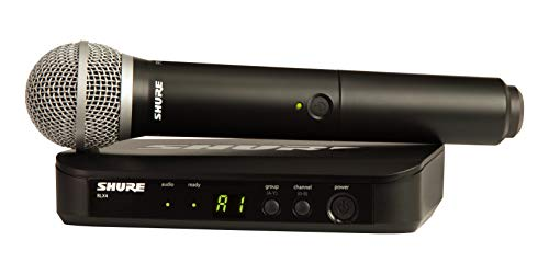 Shure BLX24/PG58 Wireless Vocal System with PG58 Handheld Microphone, J10