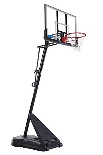 Spalding Exclusive 50' Acrylic NCAA Portable Basketball System