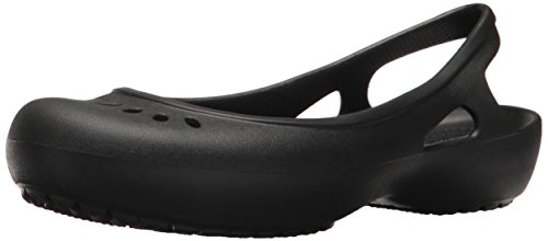 Crocs Kadee Slingback Women, Mujer Zapato plano, Negro (Black), 41-42 EU