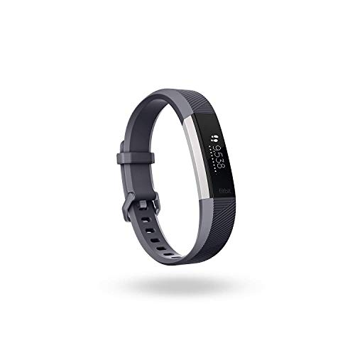 Fitbit Alta HR, Blue/Gray, Small (International Version)