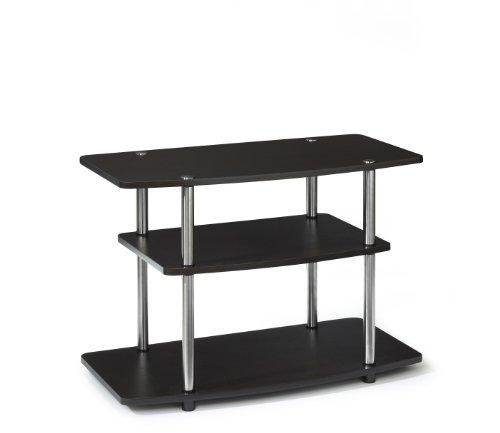 Convenience Concepts 131020ES Designs2Go 3-Tier TV Stand, Dark Espresso