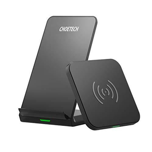 CHOETECH Wireless Charger 2 Pack, 7.5 /10W Qi Wireless Ladestation Induktive Ladegerät für iPhone 11/11 Pro /11 Pro Max/Xs Max/XR /8 Plus/X, Samsung Galaxy Note 10/9/8/ S10 / S9 / S8, AirPods Pro
