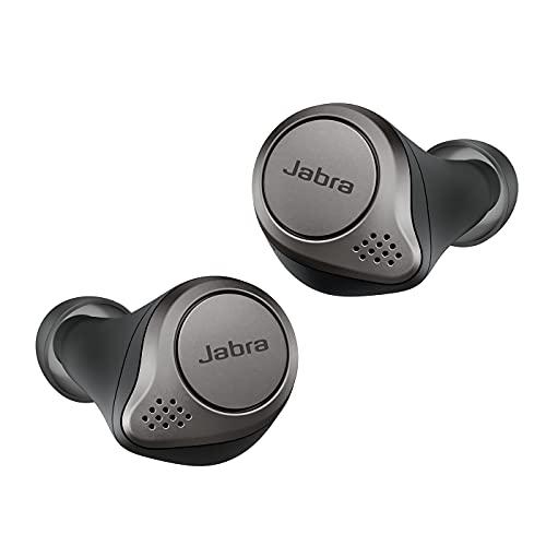 Jabra Elite 75t, Auriculares Bluetooth con Cancelación Activa de...