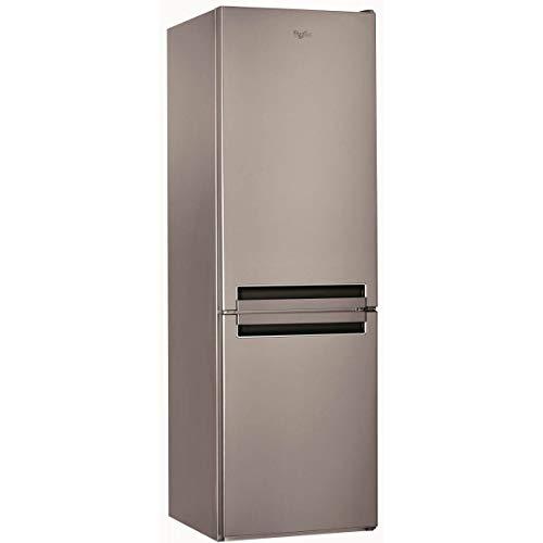 Whirlpool BSNF 8121 OX Libera installazione 319L A+ Acciaio inossidabile frigorifero con congelatore