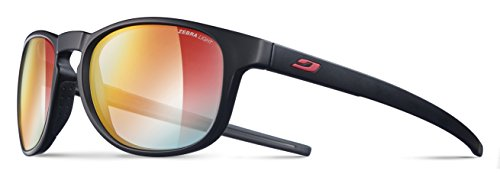 Julbo Resist Sunglasses - Zebra Light - Black/Red