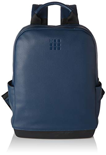Moleskine - Zaino Classic Small, Zainetto Porta PC Compatibile con Computer, Laptop, Notebook e iPad fino a 13'', Dimensioni 27 x 36 x 9 cm, Colore Blu Zaffiro