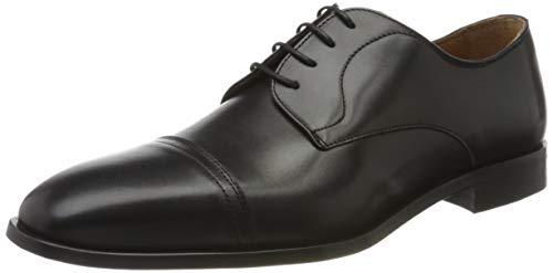 BOSS Richmont_derb_buct 10221468 01, Zapatos de Cordones Derby para Hombre, Negro (Black 001), 39 EU
