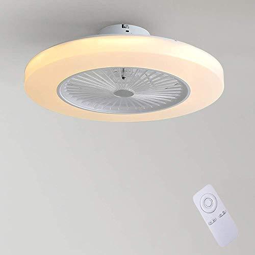 Ventilatore Da Soffitto Con Lampada, Ventilatore Invisibile Creativo Da 36 W Lampada Da Soffitto A...