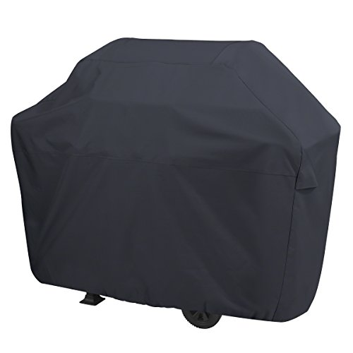 AmazonBasics Gas Grill Barbecue Cover, 60 inch / Medium, Black