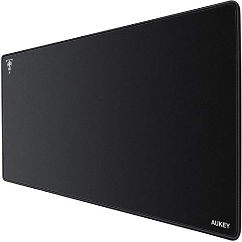 AUKEY Tappetino Mouse Gaming Grande XL, 900x400x4mm Mouse Pad, Tappetino per Mouse da Gioco,...