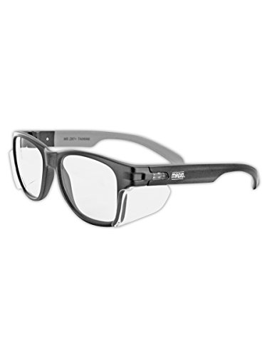 MAGID Y50BKAFC Iconic Y50 Design Series Safety Glasses with Side...