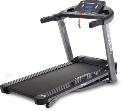 Welcare MAX PRO PTM405 2HP (4 HP Peak) Folding Treadmill, Electric Motorized Power Fitness Running Machine with LCD Display and Mobile Phone Holder Perfect for Home Use
