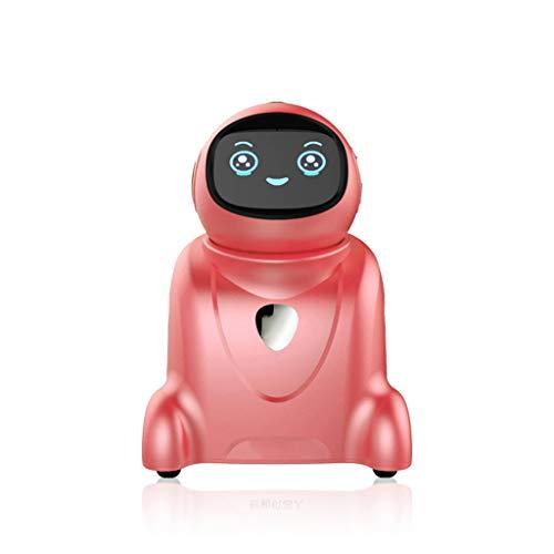 QHWJ Robot Intelligente con Videosorveglianza Remota E Dialogo Genitori-Figli, Promemoria Intelligente E modalità Casa Intelligente per Ragazzi E Ragazze Regali di Natale E di Compleanno,Rosa