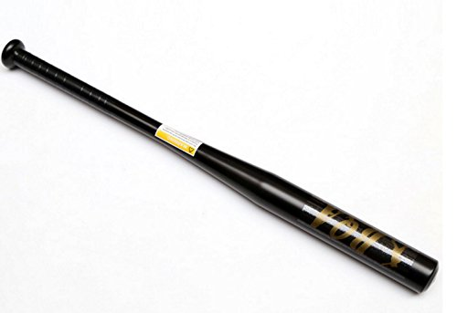HaoYiShang Batte de baseball 63,5 cm - En alliage d'aluminium - Pour sports en plein air , noir