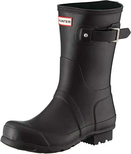 Hunter Women's Original Short Rain Boots Black Matte
