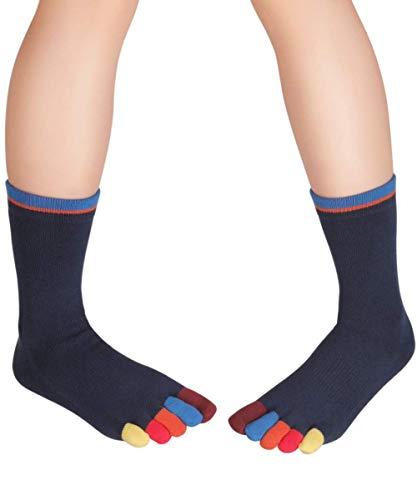 Knitido Rainbows | Calzini con le dita colorate per tutti i giorni, Colore:Jelly Bean Buddies (214), Misura:39-42