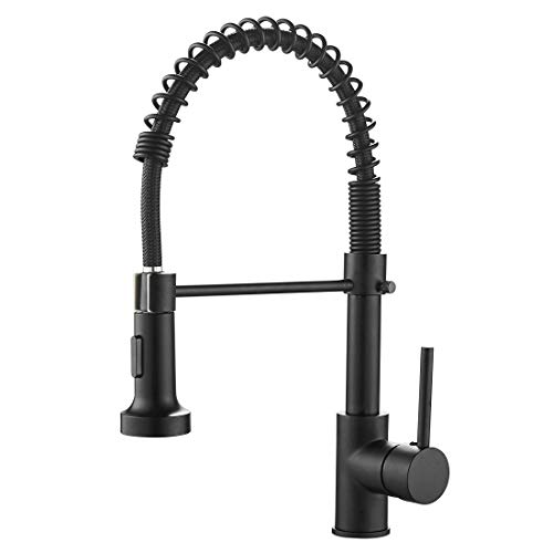 OWOFAN Kitchen Faucets Commercial Solid Brass Single Handle...