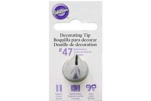 Wilton Decorating Tip, No.47 Basketweave