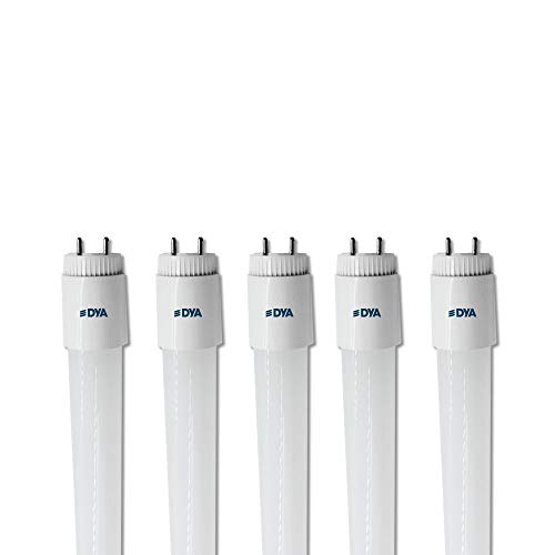 SET DI 5 TUBI LED DYA, attacco G13 - ONE SIDE POWER - (24W 2400 LUMEN 150cm, LUCE NATURALE 4000K)