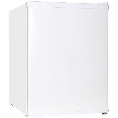 Midea WHS-87LW1 Refrigerator, 2.4 Cubic Feet, White