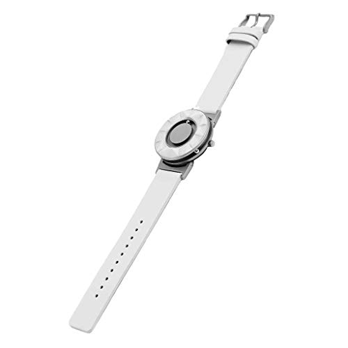 EONE The Bradley Element White – Unisex Armbanduhr mit Keramik-Lünette