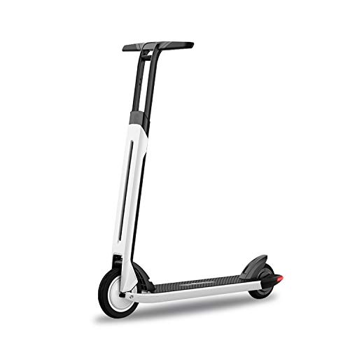 Segway Ninebot Air T15 Electric Kick Scooter, Lightweight and Portable, Innovative Step-Control, White