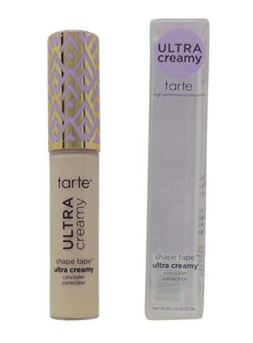 Tarte Shape Tape Ultra Creamy Concealer | Fair Neutral 12N | NEW 2021 Formula | Best Corrector Makeup Under Eye Concealer | Brighter, Smoother Skin | Matte Finish | Nourishing & Gentle