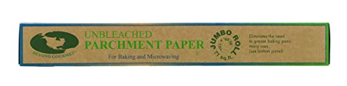 Beyond Gourmet Unbleached Non-Stick Parchment Paper Made in Sweden, 71-Square-Feet, 15 x 1.75 x 1.75 Off-White