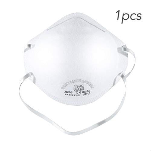 Antifog archetto FFP2 maschera rotonda antipolvere maschera anti Pm2.5 bicicletta anti-polvere maschera - 1 pz