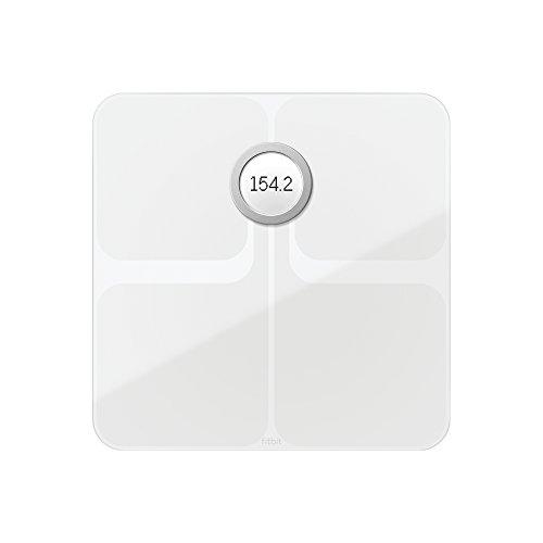 Fitbit Aria 2 Báscula Wi-Fi Inteligente, Unisex Adulto, Blanco, Talla...