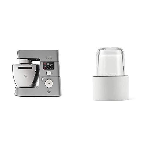 Kenwood KCC9060S Cooking Chef Gourmet, Impastatrice Planetaria, Robot da Cucina Mixer, 1500W, 6.7 Litri, Acciaio, Argento