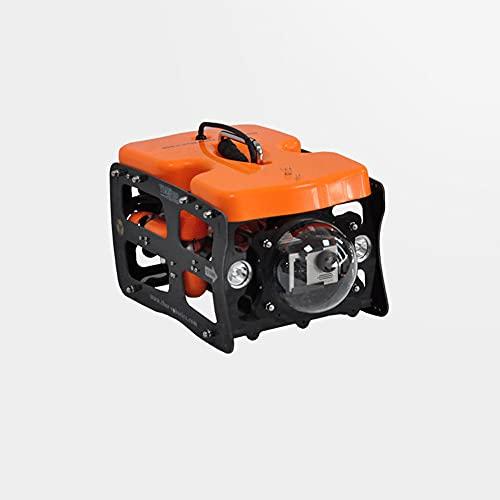 WANGCH Installazione Manuale di ROV Robot subacqueo/Immersione da 30 m Telecomando in Miniatura Sottomarino Plus 2K-4K Fotocamera Sportiva Evidenziare proiettore/Drone subacqueo/Fotocamera Subacquea