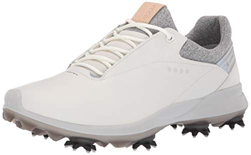 ECCO Women's Biom G3 Gore-TEX Golf Shoe, White, 38 M EU (7-7.5 US)