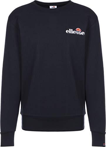Ellesse Fierro Sweatshirt Felpa, Uomo, Navy, XS