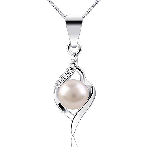 B.Catcher ciondolo in argento con perle collane di perle s925 collana a catena contenitore di argento sterlina