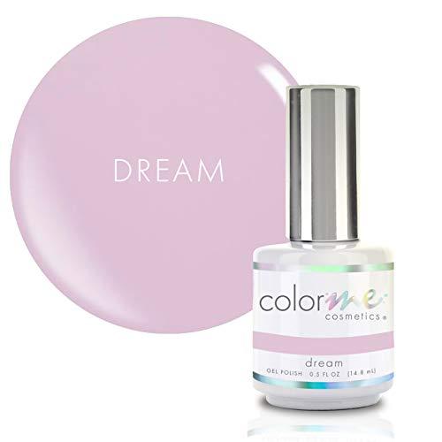 Color Me Cosmetics Gel Nail Polish - 0.5 oz. Dream LED UV Gel Polish - High Shine, Long-Lasting Color & Easy to Apply Made in the USA