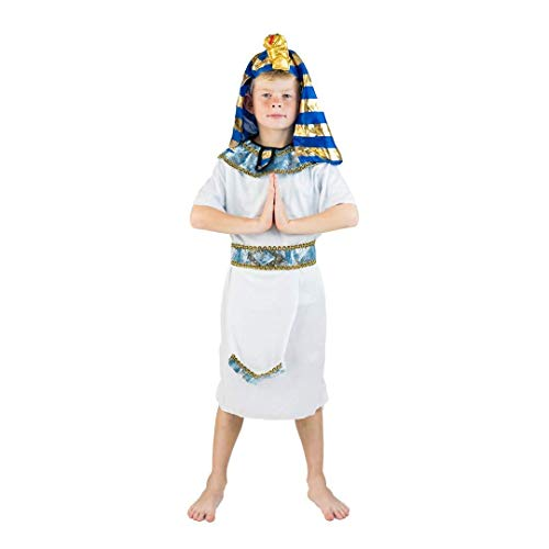 Bodysocks® Costume da Faraone Egizio per Bambini