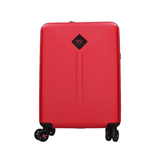 Trolley cabina con USB Ynot? Y Solid K8001 Rosso