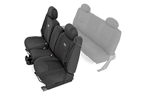 Rough Country Neoprene Front Seat Covers (fits) 1999-2006 Chevy Silverado 1500 | Extended Cab | 91013