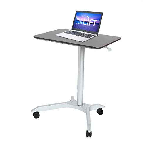 """5. Seville Classics AIRLIFT XL 28"""" Height Adjustable Sit-Stand"""